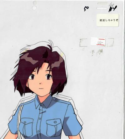 You're Under Arrest - Production Cel 03