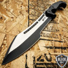 "16"" MTECH BLACK TACTICAL SURVIVAL MACHETE SWORD HUNTING FIXED BLADE KNIFE"