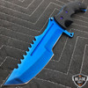 "11"" CSGO Huntsman Blue Fixed Blade"