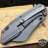 2 PC M-TECH TACTICAL Spring Assisted Open Pocket CLEAVER RAZOR  Folding Knife