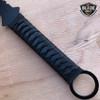 "27"" BLACK NINJA SWORD Full Tang Machete Tactical Blade Katana Throwing Knife NEW"