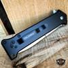 "8"" JOKER Spring Assisted STILETTO Folding Pocket Knife Blade Batman Switch NEW"