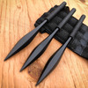 "3 PC 6"" Tactical Ninja Throwing Spike Set Dart Quills Knife Combat Kunai Daggers"