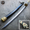 "40"" White Dragon SAMURAI NINJA Bushido KATANA Japanese Sword Carbon Steel Blade NEW"