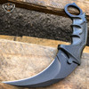 3PC COMBO CSGO Tactical Fixed Blade Knife Set - Karambit, Huntsman, Combat Knife