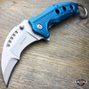 TAC FORCE Spring Assisted COMBAT KARAMBIT CLAW Folding Open Pocket Knife NEW