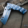TACTICAL Spring Assisted Open Pocket Knife CLEAVER RAZOR FOLDING Blade NEW