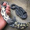 """6.5"""" TAC FORCE KARAMBIT SPRING ASSISTED TACTICAL FOLDING KNIFE Blade Pocket Open"""