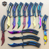 CSGO Practice Knife Balisong Butterfly Tactical Combat Trainer NEW - PHASE 2
