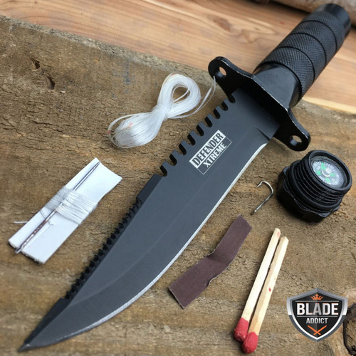 8 5 Quot Tactical Fishing Hunting Survival Knife W Sheath
