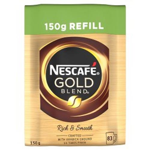 Nescafe Gold Blend Refill Freeze Dried Instant Coffee 150g