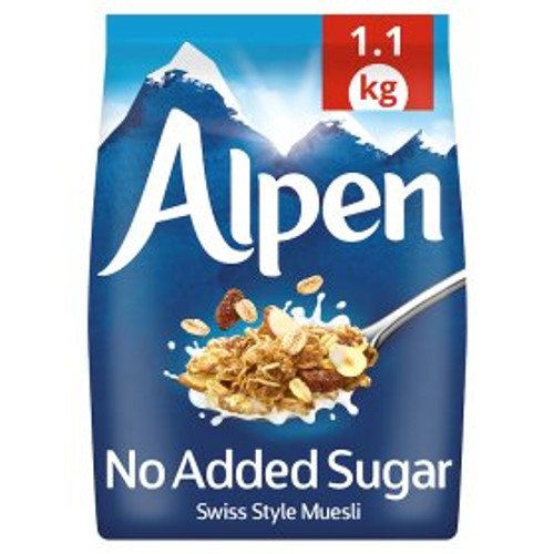 Alpen No Added Sugar Muesli 1.1kg