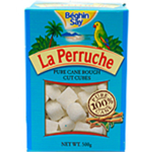 A La Perruche Rough Cut White Sugar Cubes 500g