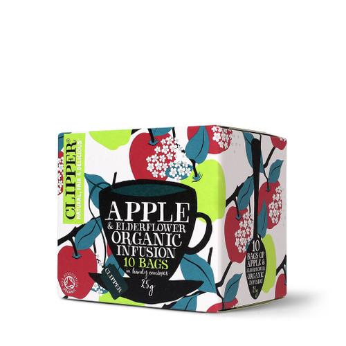 Clipper Organic Apple and Elderflower Infusion 10 Envelopes 25g