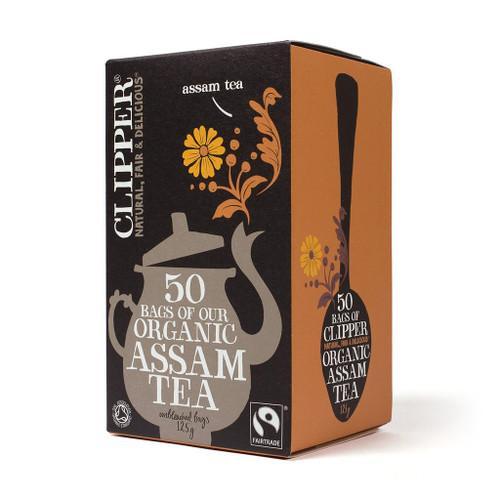 Clipper Fairtrade Organic Assam Tea 50 bags 125g