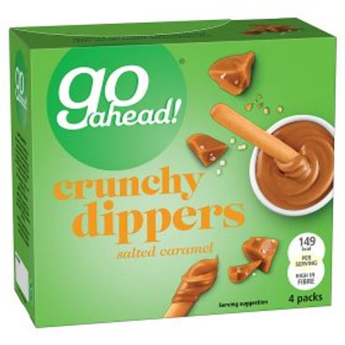 Go Ahead! Crunchy Salted Caramel Dippers 4x30g