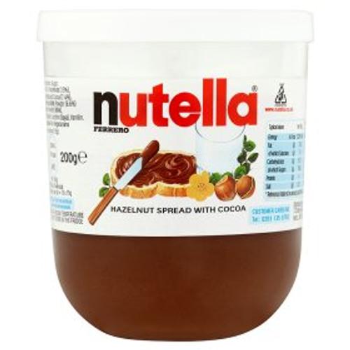 Nutella Hazelnut Chocolate Spread 200g