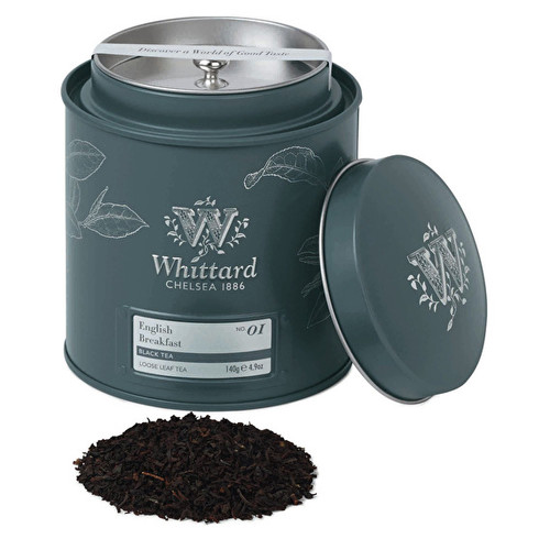 Whittards English Breakfast Loose Leaf Tea Caddy 100g