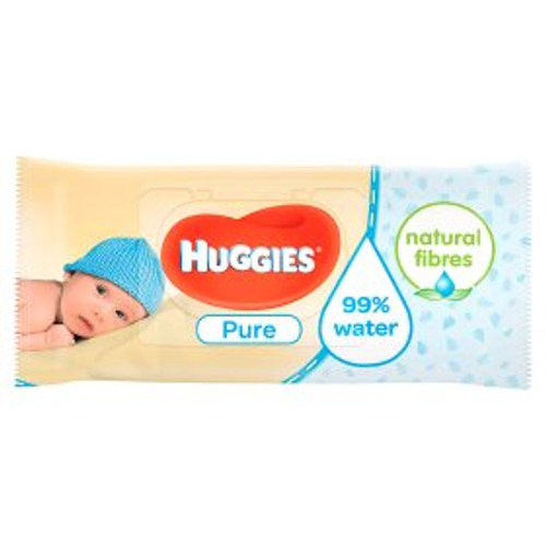 Huggies Pure Single Wipes