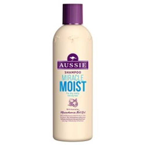 Aussie Miracle Moist Shampoo for dry damaged hair