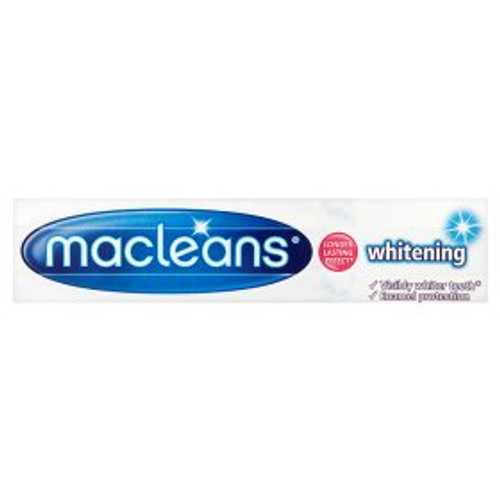 Macleans Whitening Fluoride Toothpaste
