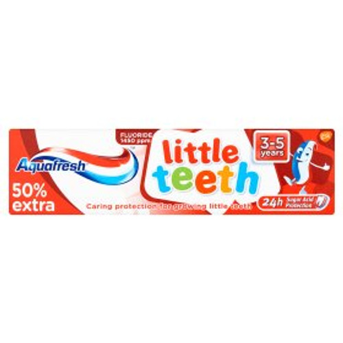 Aquafresh Little Teeth 3 - 5 years Fluoride Toothpaste