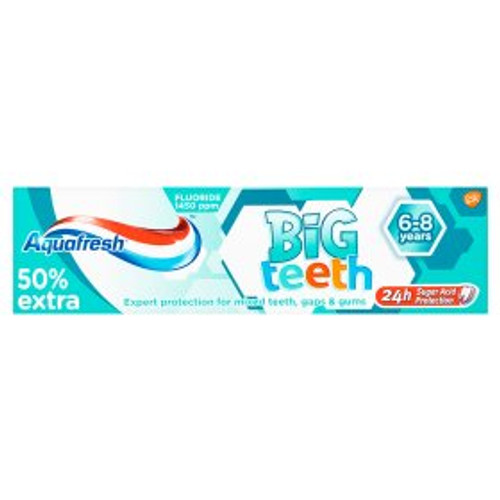 Aquafresh My Big Teeth 6+ Years Fluoride Toothpaste