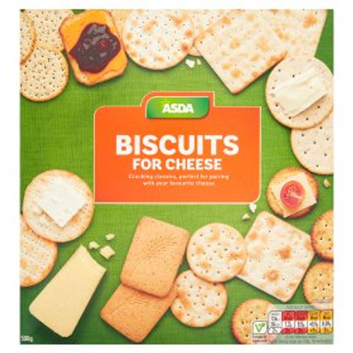 ASDA Chosen By You Biscuits for Cheese 500g