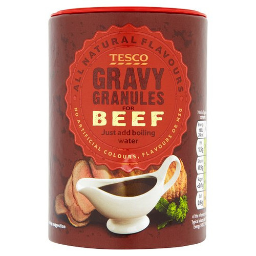 Tesco Beef Gravy Granules 200g