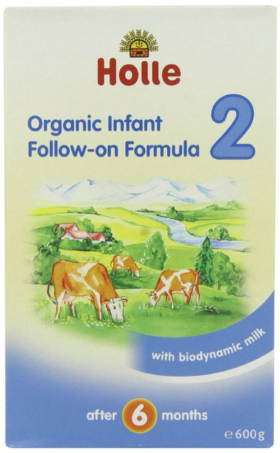 Holle Organic Baby Milk Formula Stage 2 Follow On 600g