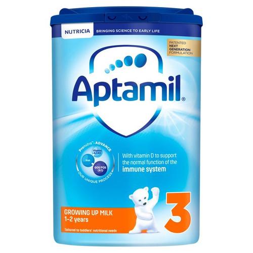 Aptamil 3 Growing Up 1 to 2 yrs Milk Baby Formula 900g