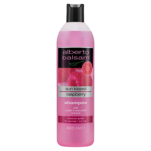 Alberto Balsam Sun Kissed Raspberry Herbal Shampoo 400ml