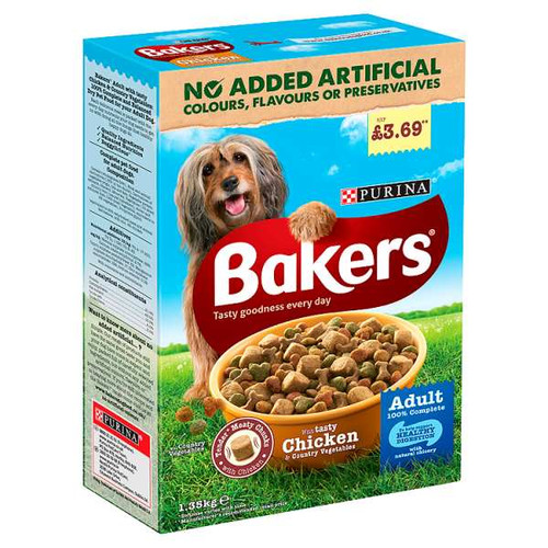 Bakers Adult Chicken and Vegetable 1.35kg