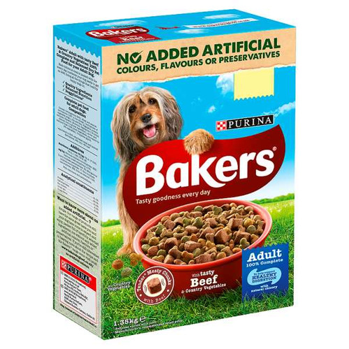 Bakers Adult Beef and Vegetable 1.35kg