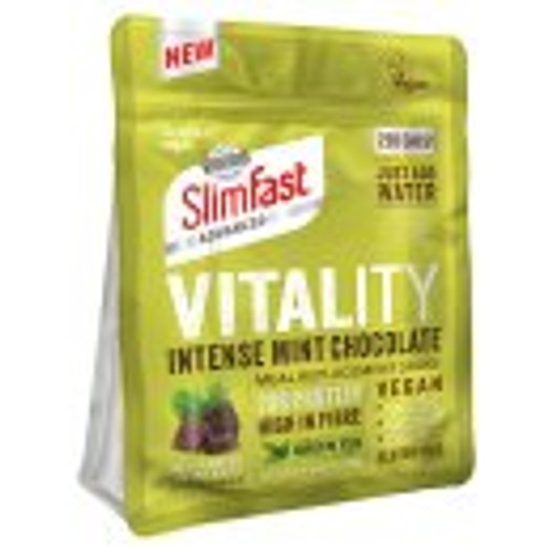 SlimFast Vitality Intense Mint Chocolate Vegan Meal Replacement Shake 486g