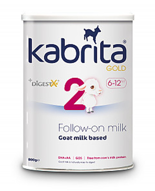 Kabrita Gold From 6 Months Stage 2 Follow On Milk 800g