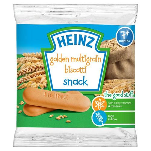 Heinz 7 Mths + Golden Multigrain Biscotti Biscuits 60g