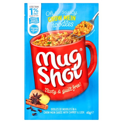 Mug Shot Chow Mein Noodles 45G