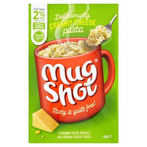 Mugshot Creamy Cheese Pasta 68G