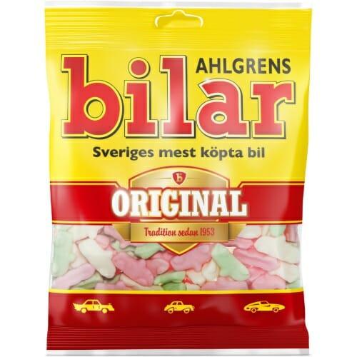 Ahlgrens Bilar Original – Fruity Marshmallow Sweets 125g