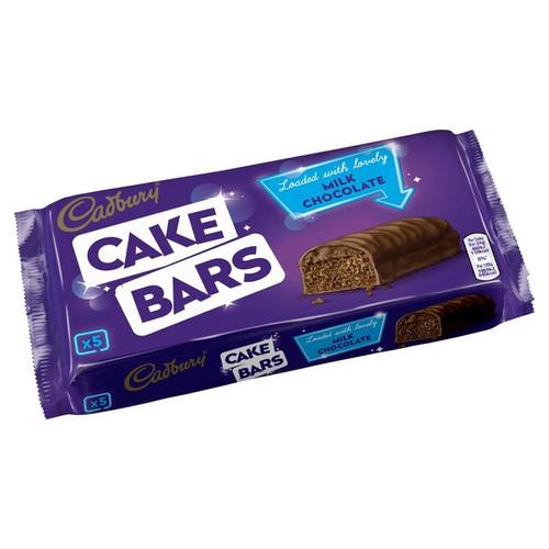Cadbury 5 Milk Chocolate Cake Bars
