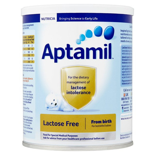 Aptamil Lactose Free Baby Formula From Birth 400g