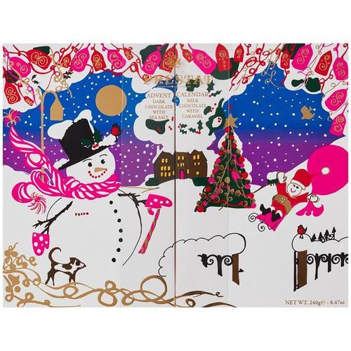 Prestat Snowman Advent Calendar 240g