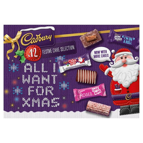 Cadbury All I Want For Christmas 12 Pack