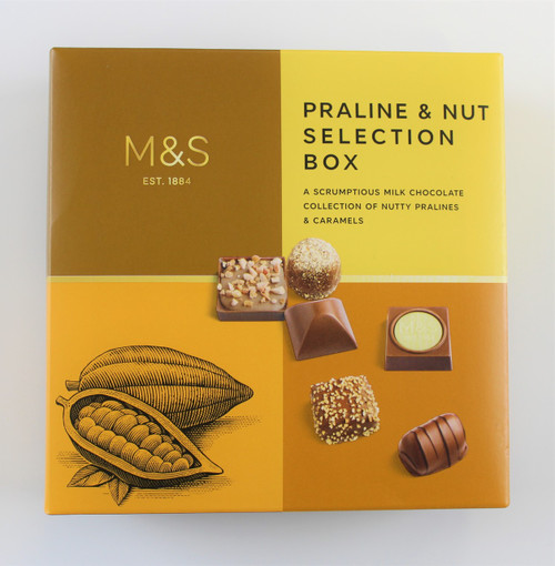 Marks and Spencer Praline & Nut Selection Box 200g