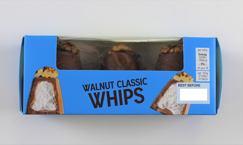 Marks and Spencer Walnut Whips Classic 85g