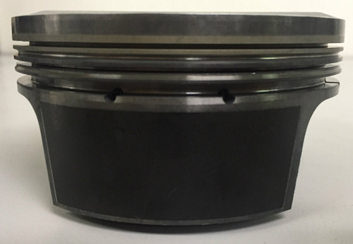 Excellent Used Condition MAHLE Pistons from 350 ci SC COPO Camaro, Standard Bore, (set of 8)