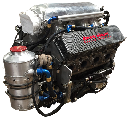 670ci Fuel Injected Brad Klein BBC Engine with BRT Transmission