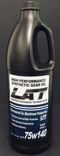 LAT 75w-140 High Performance Gear Oil (10 Quarts)