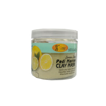 Pedi Marine Clay Mask - Lemon Lime 16oz